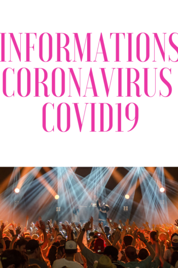 INFOS REPORTS & ANNULATIONS – COVID 19